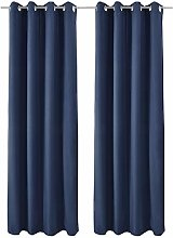 Beautissu 2 Set Thermal-Curtain Amelie with