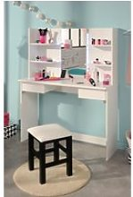 Beauty Bar Dressing Table White
