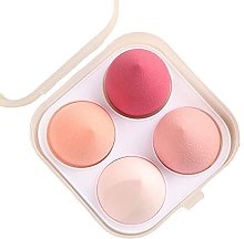 Beauty Blender Sponge, 4 pcs Foundation Makeup