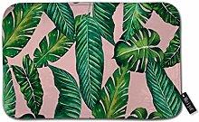 Beauty-Design Jungle Leaves Banana Monstera Pink