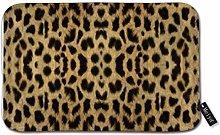 Beauty-Design Leopard Print Doormat Welcome Mat