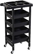 Beauty Tool Trolley On Wheels, With Stand, With 4