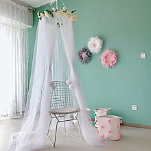 Bed Canopy with Rose Decor for Girls, Universal