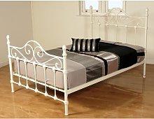 Bed Frame Fleur De Lis Living Size: Kingsize