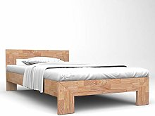 Bed Frame Solid Oak Wood Bed Frame Home Furniture