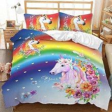 Bed Linen 135 x 200 cm Bedding Set 3D Animal