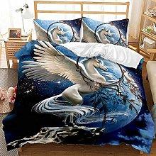 Bed Linen 200 x 200 cm Bedding Set 3D Animal