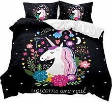 Bed Linen 220 x 240 cm 3D Fashion Cartoon Animal