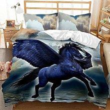 Bed Linen 240 x 260 cm Bedding Set 3D Animal