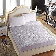 Bed Sheet Solid Thicken Mattress Cover King Queen
