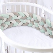Bed Tower, Braided Bumper, Branded Baby Baby Crib