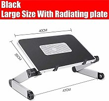 Bed tray table Adjustable Laptop Desk Aluminum