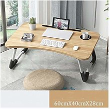 Bed tray table Home Folding Laptop Desk For Bed