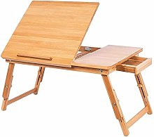 Bed tray table Laptop Stand Natural Bamboo