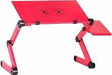 Bed tray table Two Fan Laptop Desks Portable