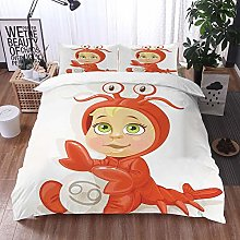 bedding - Duvet Cover Set,Astrology,Funny Baby