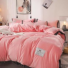Bedding-LZ flanellete duvet cover-Thickened