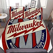 Bedding set Milwaukee USA/Europe/UK size quilt