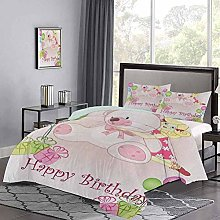 Bedding Sets Baby Girl Birthday with Teddy Bears