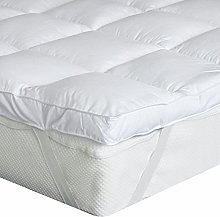 Bedecor Quilted Mattress Topper Microfibre