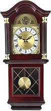 Bedford Clock Collection Antique Mahogany Cherry