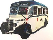 Bedford OB Coach Clock - Bedford OB Bus Clock -