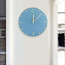 Bediffer Cat Clocks Wall Swinging Tail, Mute Clock