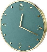 Bediffer Mute Clock, Wall Clock European Style