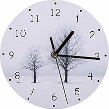 Bediffer Practical Wall Clock Cartoon Delicate