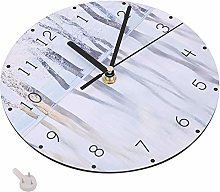 Bediffer Wall Clock Cartoon With a Hook Delicate