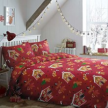Bedlam, 52% Polyester / 48% Cotton, Red, Single,