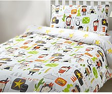 Bedlam Cowboys And Indians Duvet Cover Set, Multi,