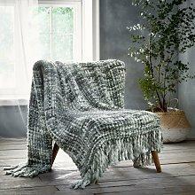 Bedmaker - Marley Grey Throwover Throw Blanket