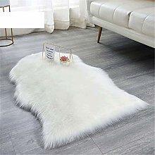 Bedroom Carpet Soft Fur Armchair Cover Shaggy Area