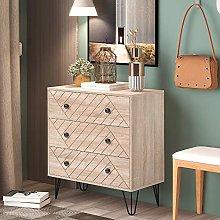 Bedroom Chest of Drawers Slim Storage Cabinet
