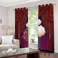 Bedroom Curtains,Blackout Thermal Insulated