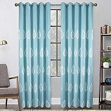 Bedroom Curtains,Opaque Blackout Thermal Insulated