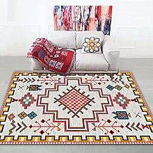 Bedroom Rug,Vinatge Boho Turkey Unique Ethnic