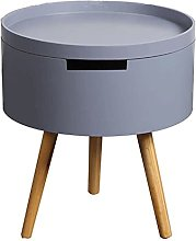 Bedroom side tables,Coffee table wood with round