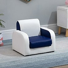 Bedroom Small Sofa Armchairs PU Upholstered Seat