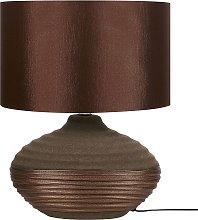 Bedside Lamp Brown LIMA