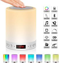 Bedside lamp with bluetooth speaker with FM radio