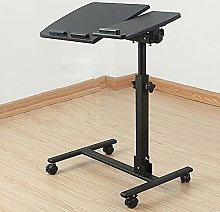 Bedside Overbed Table, Height Adjustable Overbed
