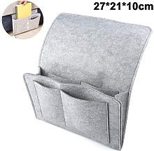 Bedside Sofa Felt Hanging Storage Bag with 5