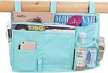 Bedside Storage Bag Large Capacity 8 Pockets