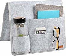 Bedside Storage Organiser Felt Bedside Pocket,