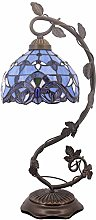 Bedside Table Lamp, Stained Glass Lamp Minimalist