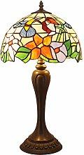 Bedside Table Lamp Tiffany Style Desk Light,