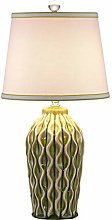 Bedside Table Lamps Wave Texture Ceramic Table