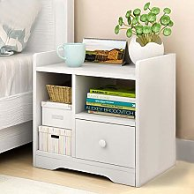 Bedside Table Night Stand Wooden End Table Cabinet